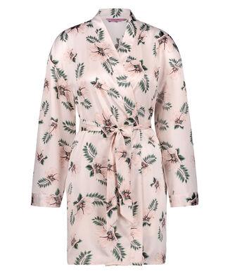 Kimono Satin Bridal, Roze
