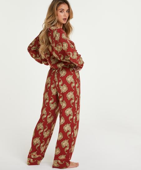 Petite pyjamabroek Woven, Roze