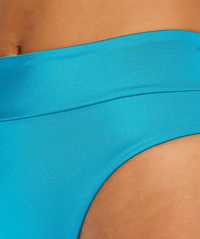 hoog uitgesneden bikinibroekje Celine, Blauw, main