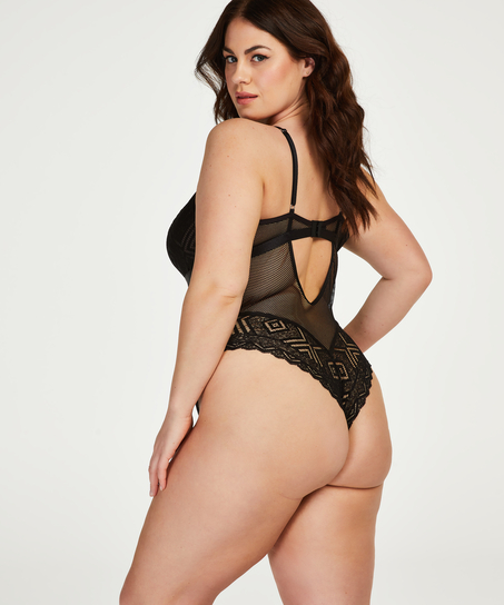 Body Jerrine I AM Danielle, Zwart