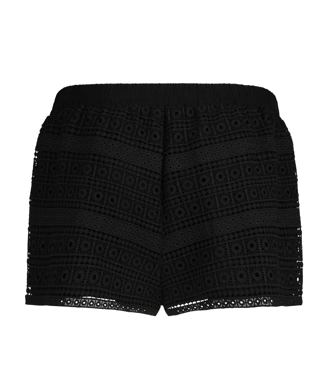 Short Crochet, Zwart, main