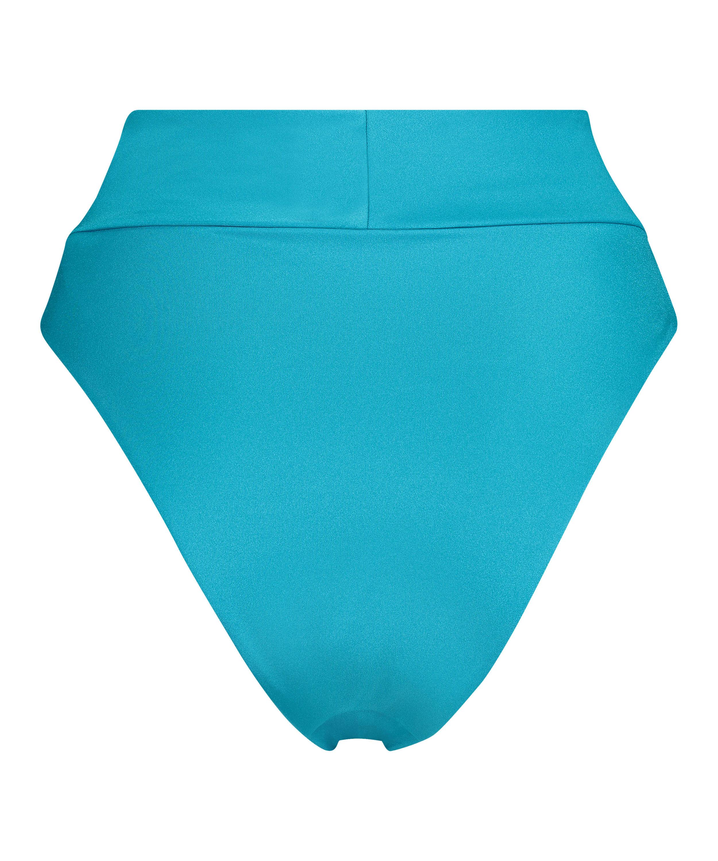 Bas de bikini échancré Celine, Bleu, main