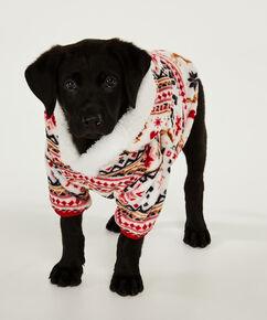 Fleece honden onesie, Huidskleur