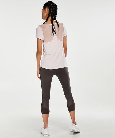 T-shirt de sport HKMX mesh, Rose