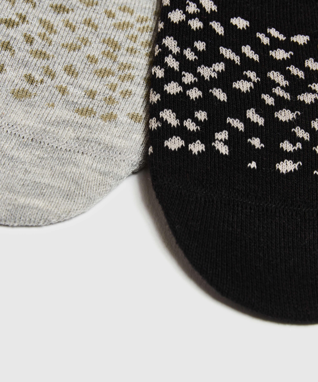 2 Paires de Chaussettes, Noir, main