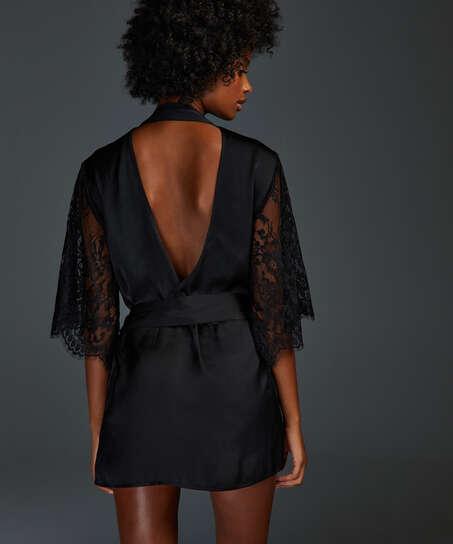 Kimono Jennifer, Zwart