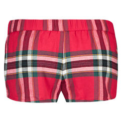 Short Twill Check, Rouge