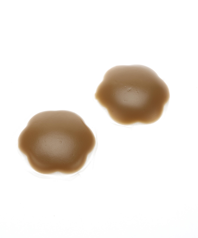 Silicon nipple covers, Brun, main