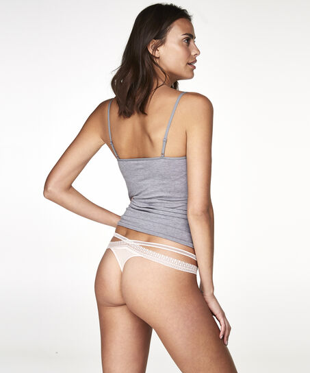 String Strappy Low, Rose