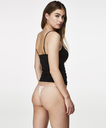 Thong lace, Wit