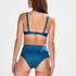 Niet-voorgevormde beugel bikinitop Sunset Dreams, Blauw