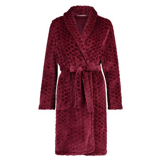 Peignoir Fleece, Rouge
