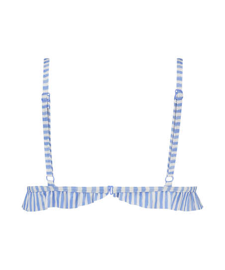 Triangle bikinitop Julia, Blauw