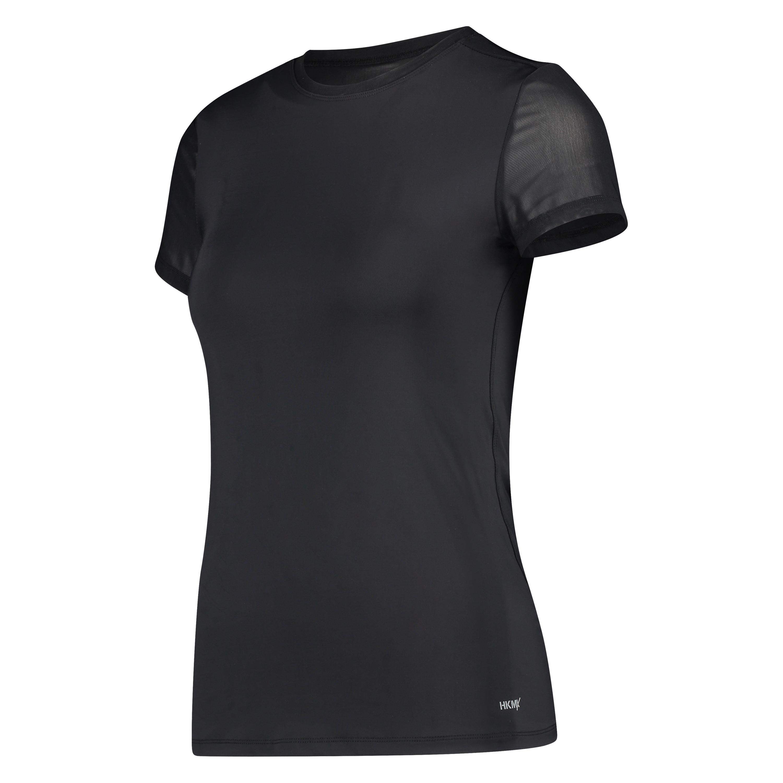 T-shirt de sport HKMX Dos échancré, Noir, main