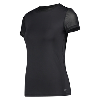 HKMX Sport Shirt Open Rug, Zwart
