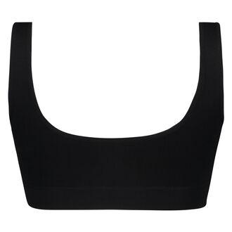 Top basic sans coutures, Noir