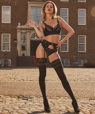 Stocking 50 denier Doutzen, Zwart