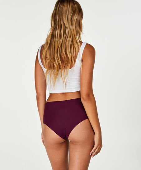 Invisible high waist brazilian, Paars