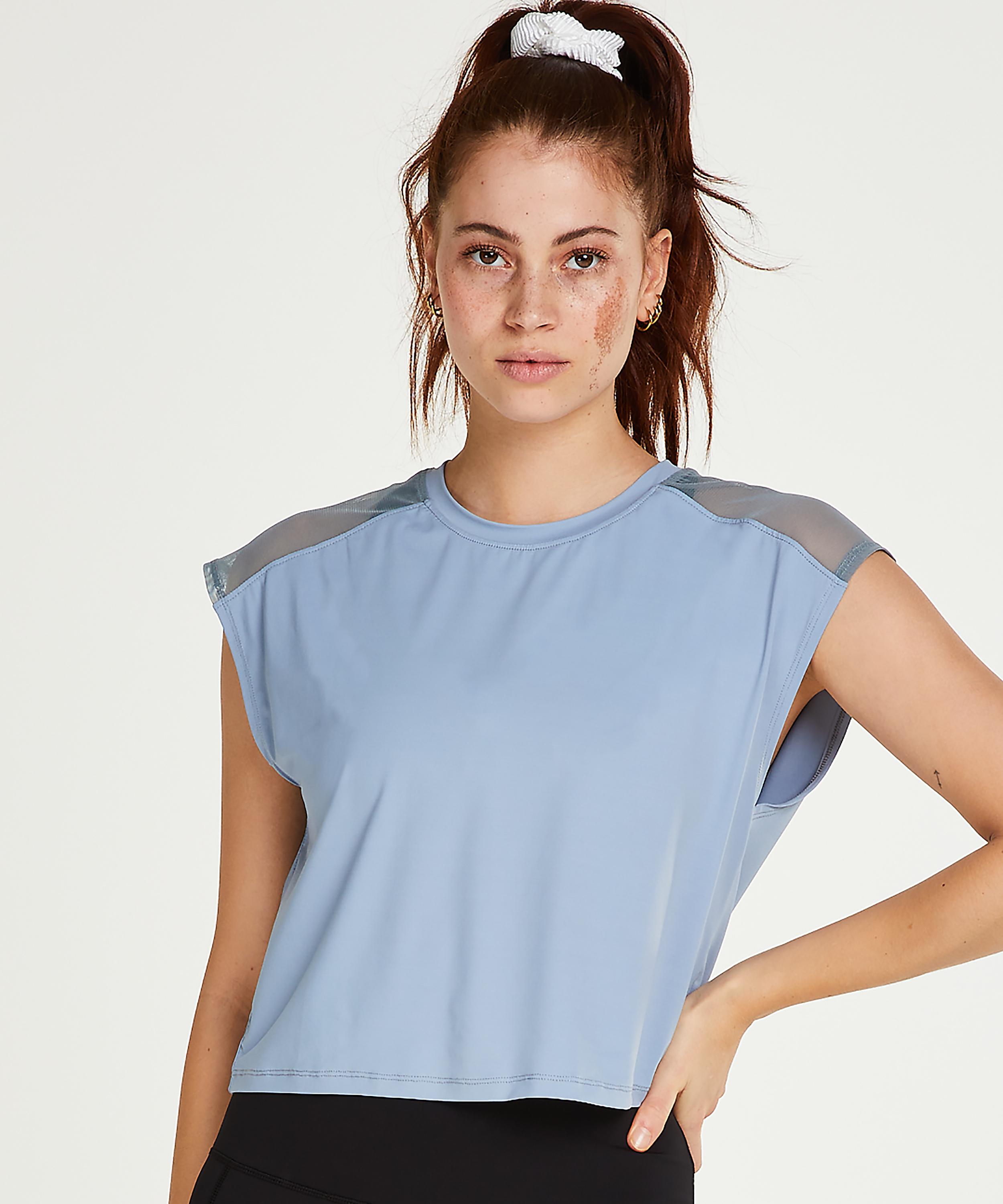 HKMX Sport t-shirt Joya, Blauw, main
