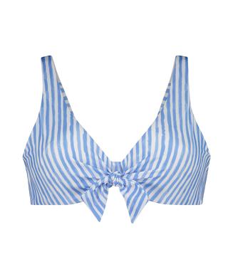 Niet-voorgevormde beugel bikinitop Julia, Blauw