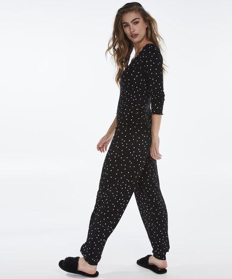 Pyjama long, Noir