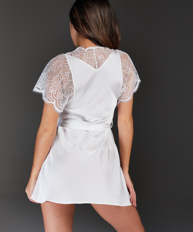 Kimono Cap Sleeve, Blanc, main