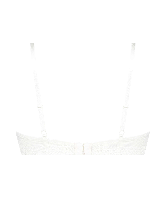 Soutien-gorge à armatures maximiseur préformé Bessie, Blanc, main