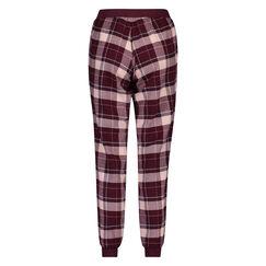 Pantalon de pyjama Check, Rouge