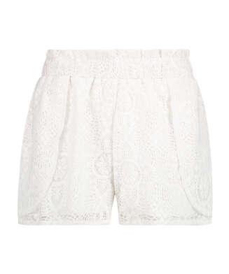 Lace korte broek, Wit