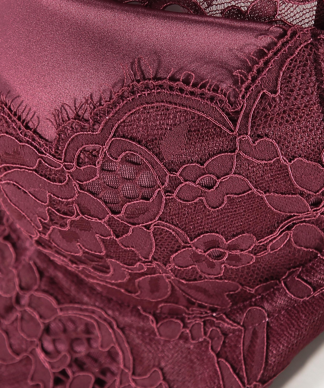 Soutien-gorge à armatures préformé longline Heather, Rouge, main