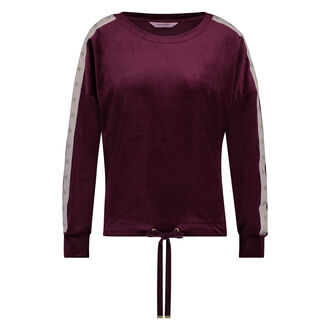 Top Velours Ster, Rood