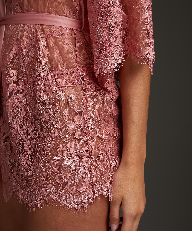 Kimono Lace Isabelle, Roze, main