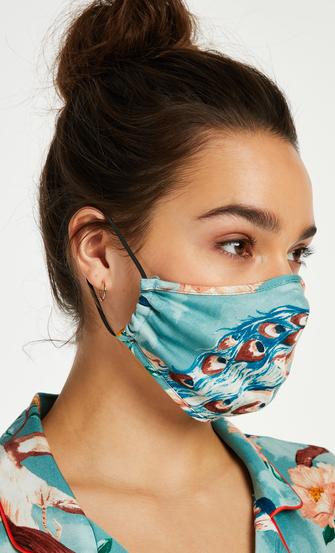 Masque Print, Bleu