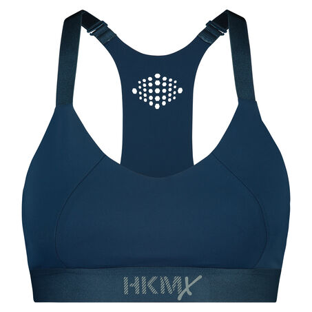HKMX sport bh The Yoga Crop level 2, Blauw