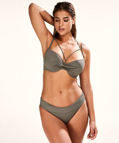 Fold over Bikinislip Sunset Dream, Groen
