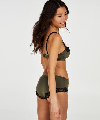 Boxer Secret lace, Vert