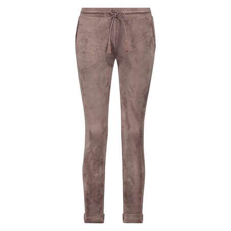 Pantalon de jogging Velours, Brun