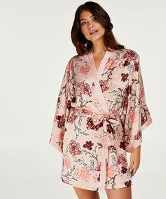 Kimono Satin Kiku, Rose