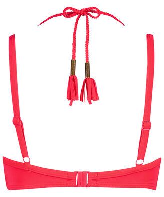 Haut de bikini à armatures préformé Sunset Dream, Rouge