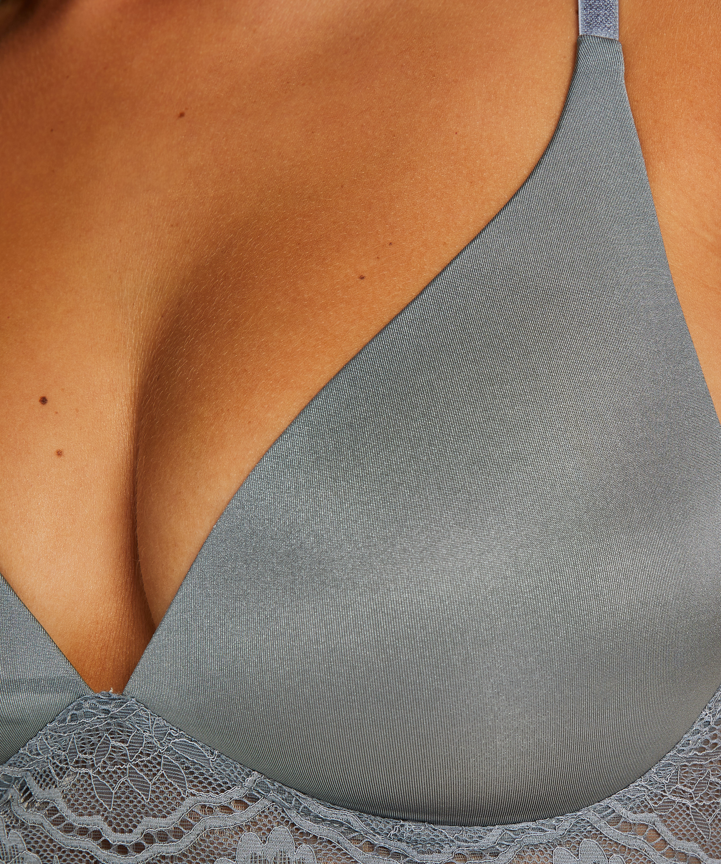 Soutien-gorge préformé sans armature Chloe, Gris, main