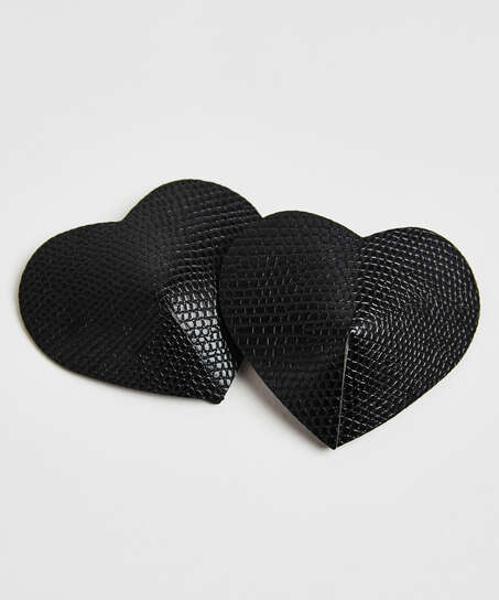 Nipple covers Private Snake, Zwart