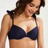 Voorgevormde beugel bikinitop Harper, Blauw