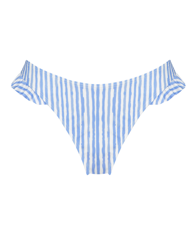 Bas de bikini échancré Julia, Bleu, main