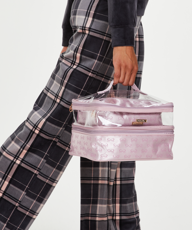 3-pack make up tas, Roze, main
