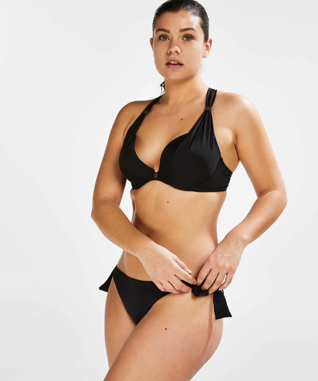 Brazilian bikinibroekje Sunset Dream, Zwart, main