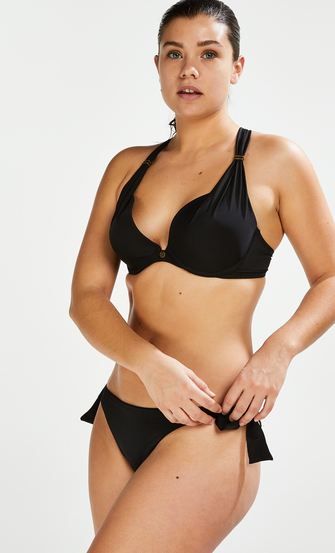 Brazilian bikinibroekje Sunset Dream, Zwart