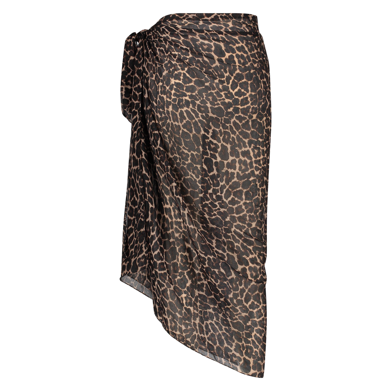 Paréo leopard, Noir, main