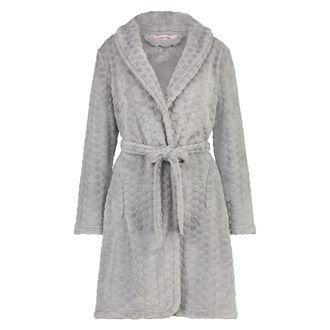 Peignoir Fleece, Gris