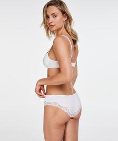Slip Secret Lace, Blanc