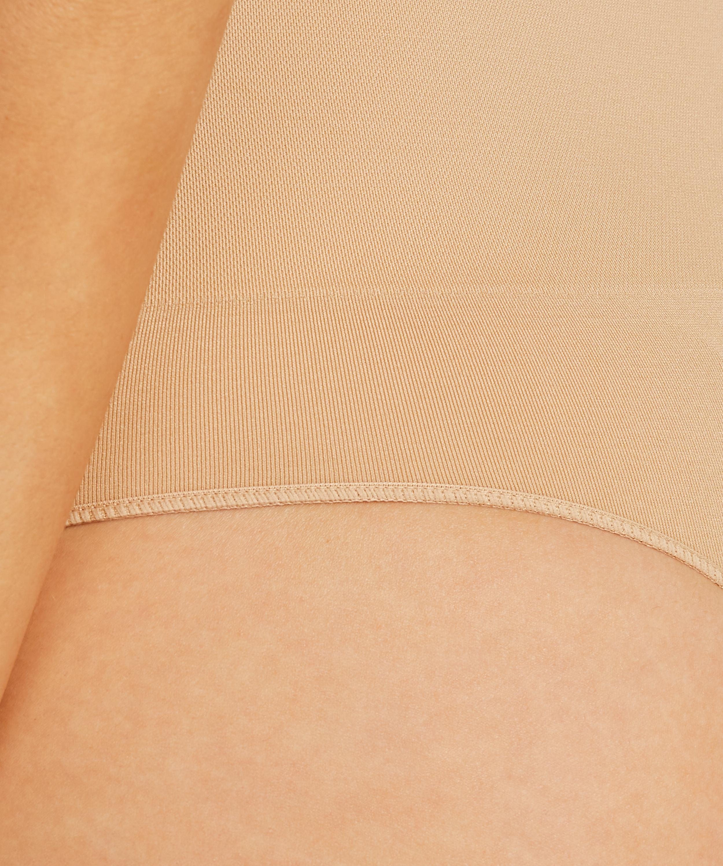 String raffermissant taille haute sans coutures - Level 2, Beige, main